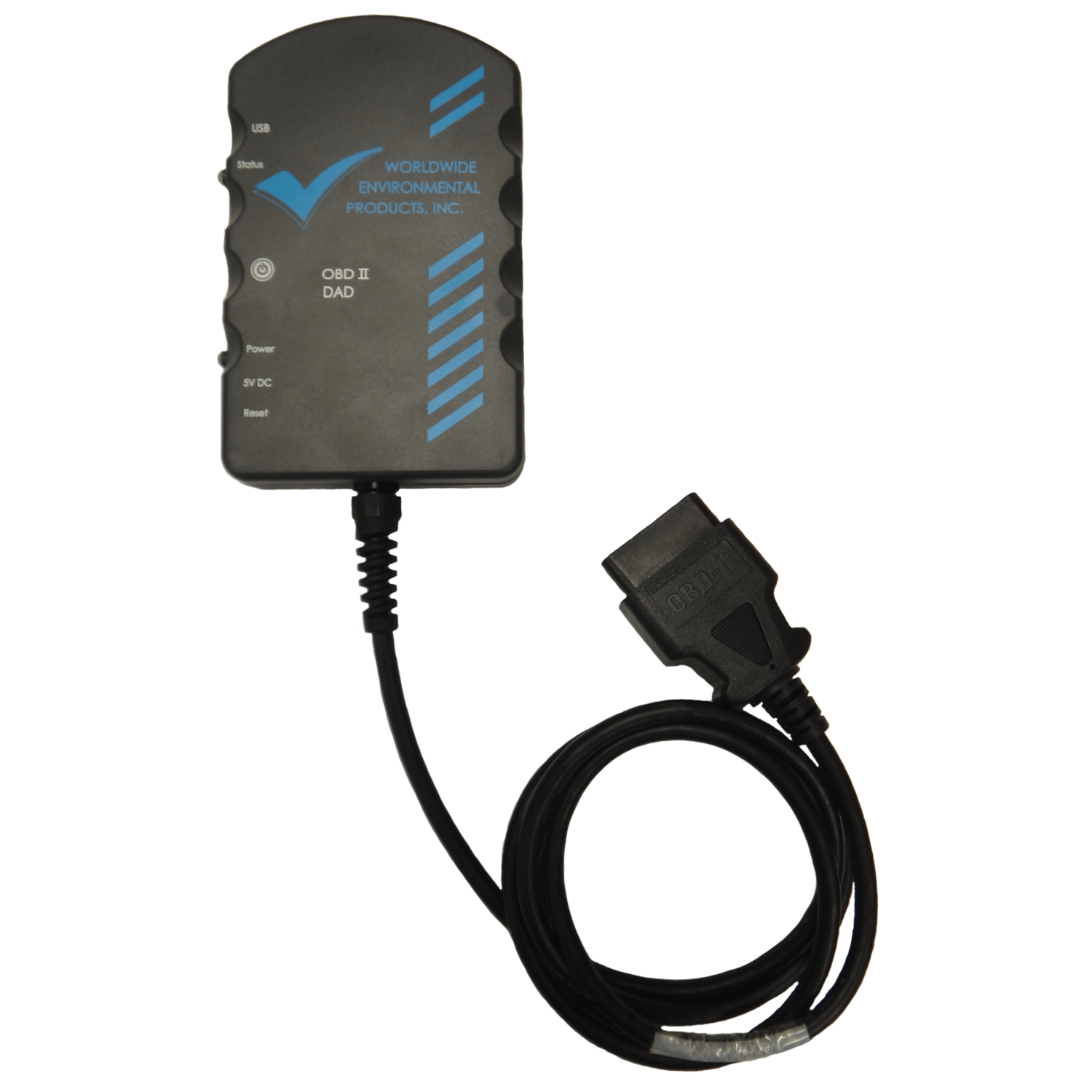 Worldwide OBDII Data Acquisition Device (DAD)
