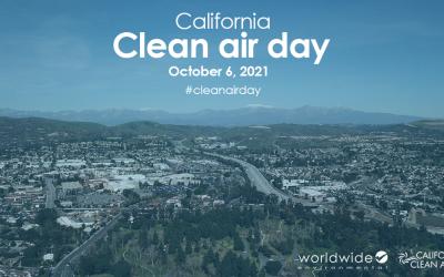 Worldwide joins California Clean Air Day